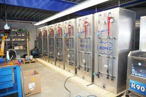 Wasseraufbereitung für Waschanlage