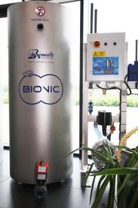 Wasseraufberietungsanlage für eine Waschanlage
